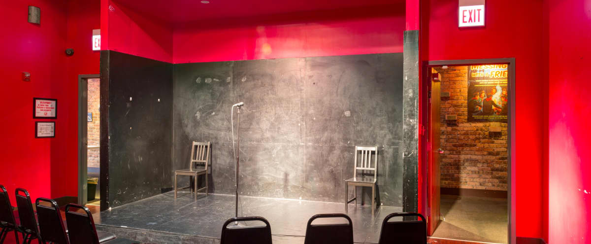 Intimate Blackbox Theatre in Lake View for Rehearsals in Chicago Hero Image in Lake View, Chicago, IL
