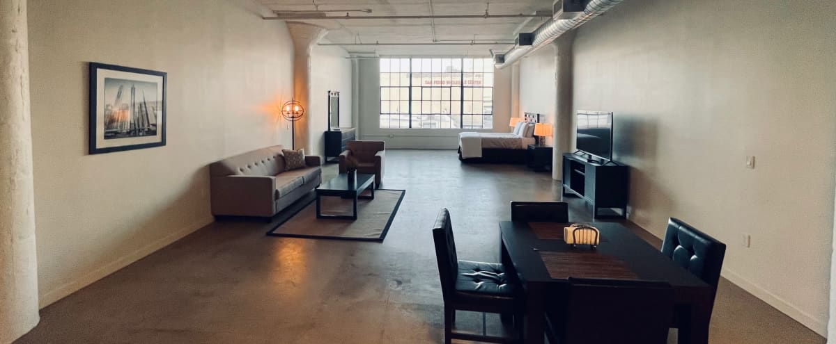 Downtown Industrial Loft with Great Natural Light in Los Angeles Hero Image in Central LA, Los Angeles, CA