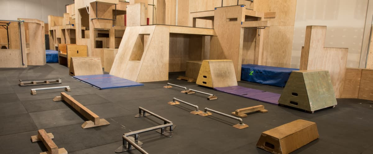 Super Unique & Large Space at Parkour Facility   Ideal for Fitness Related Shoots in Louisville Hero Image in undefined, Louisville, CO