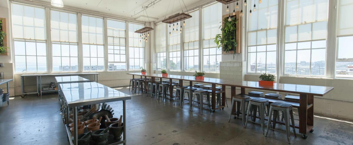 Semi-Industrial Off-Site Space with Bay Views in San Francisco Hero Image in Potrero Hill, San Francisco, CA