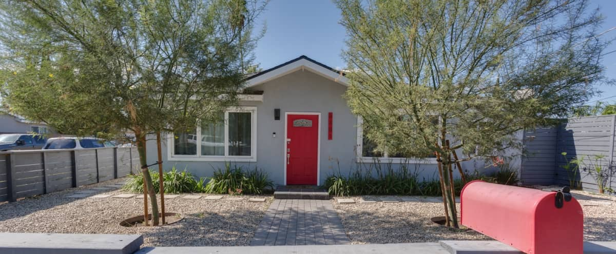 Roomy SIngle Story Updated Family Home w Brick Back Yard Patio, Valley Glen in valley glen Hero Image in North Hollywood, valley glen, CA