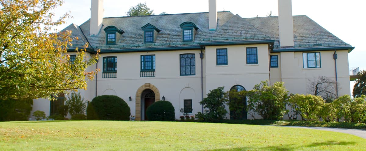 Unique Estate Built on 25+ Acres in Tarrytown Hero Image in undefined, Tarrytown, NY