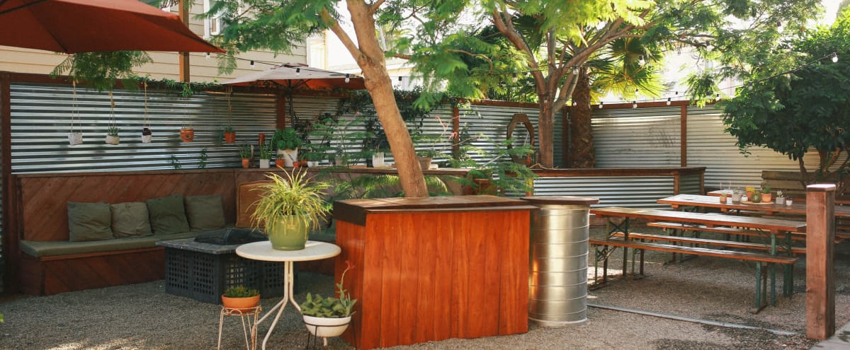 Beautiful Private Outdoor Gathering Space in Long Beach Hero Image in Alamitos Beach, Long Beach, CA
