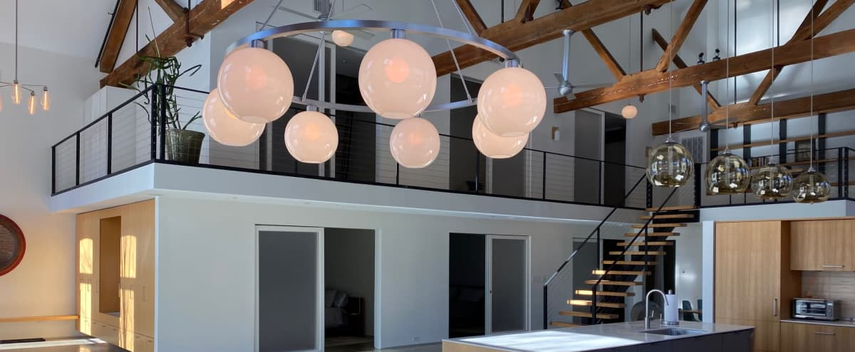 Modern Design Loft w Home Theatre in Beacon on Hudson in Beacon Hero Image in undefined, Beacon, NY