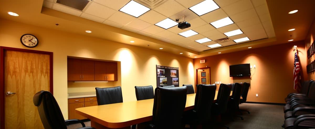 Roomy 12 Person Conference Room in Downtown Las Vegas in Las Vegas Hero Image in Meadows, Las Vegas, NV