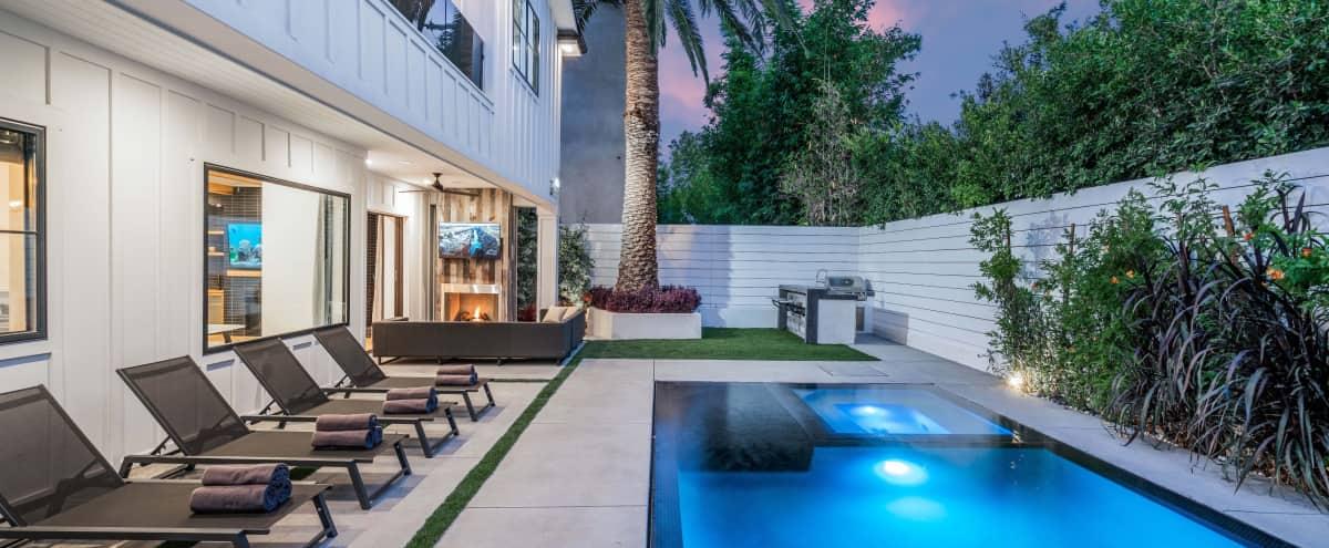 SPACIOUS NEW LUXURY VILLA - MOVIE ROOM, POOL TABLE, BBQ! WeHo in LOS ANGELES Hero Image in Central LA, LOS ANGELES, CA