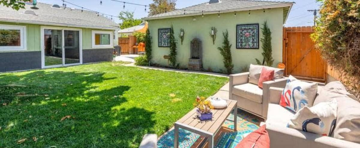 Californian Modern Mid-Century Home with Spacious-Manicured Gardens to Celebrate in North Hollywood Hero Image in Sun Valley, North Hollywood, CA