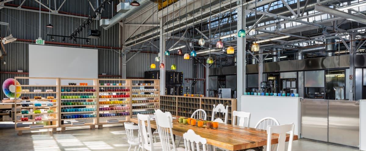 industrial chic hot shop and event space in Berkeley Hero Image in Southwest Berkeley, Berkeley, CA