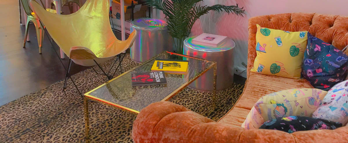 Creative Hollywood Work Studio w/ Neon 80's + 90's Vibes in Los Angeles Hero Image in Hollywood, Los Angeles, CA