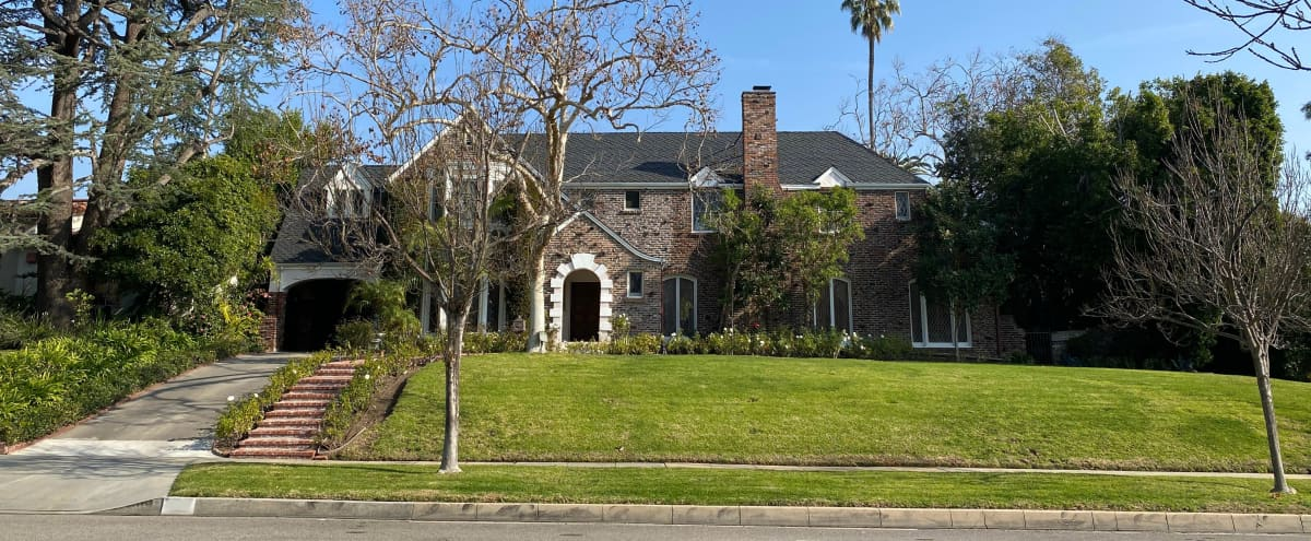 Beverly Hills English Brick Mansion in Beverly Hills Hero Image in The Flats, Beverly Hills, CA