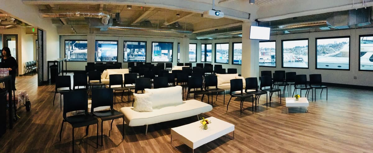 BUYOUT | Events Venue with Beautiful Lakefront Views in Seattle Hero Image in Westlake, Seattle, WA