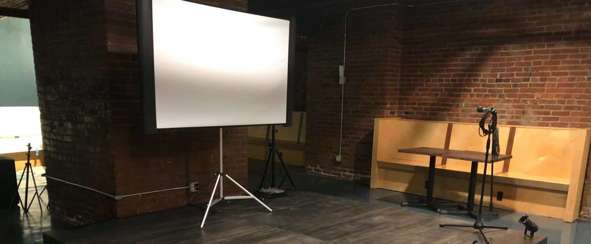 Historic subterranean meeting space in the heart of Pioneer Square with lighting and sound packages available in Seattle Hero Image in Downtown Seattle, Seattle, WA