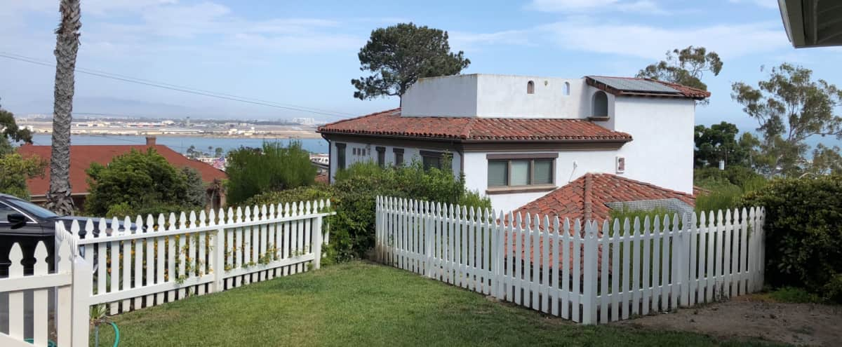 Untouched furnished house from the 1950s with views of San Diego Bay in San Diego Hero Image in La Playa, San Diego, CA