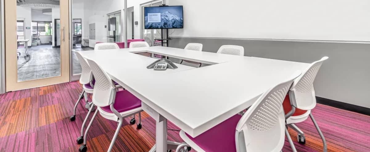 Colorful modern meeting room for 8 in Denver Hero Image in West Central Westminster, Denver, CO