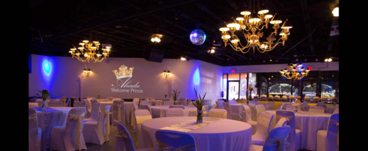 Large Reception Hall With Commercial Kitchen, Bridal Room, Stage & Full A/V in Marietta Hero Image in undefined, Marietta, GA