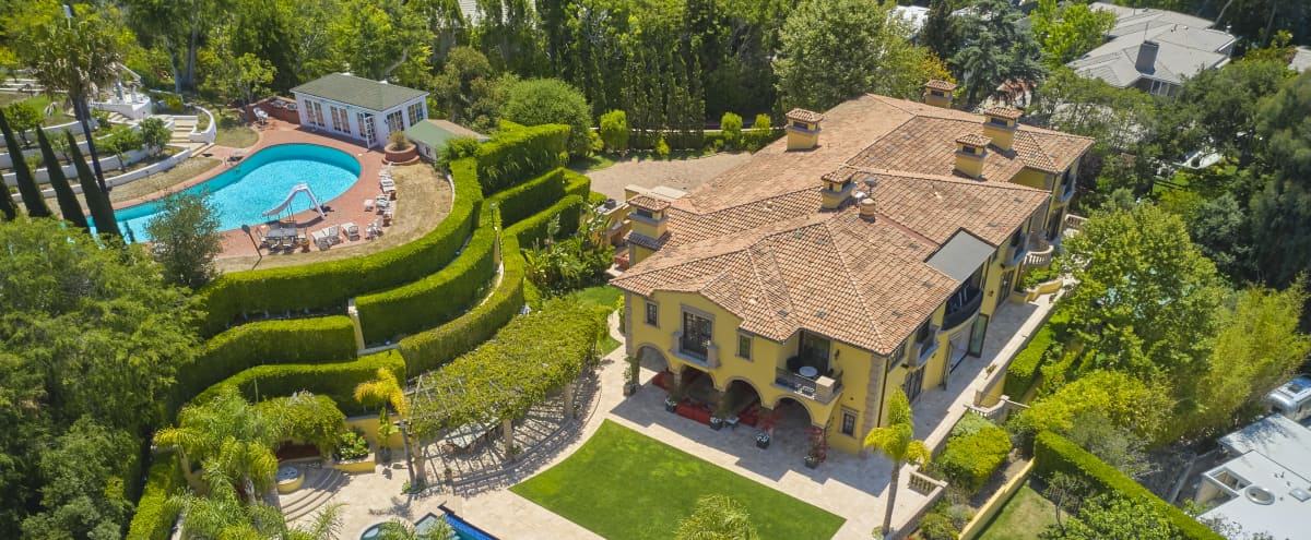 Beverly Hills Modern Mansion Production and Event Complex in beverly Hills Hero Image in undefined, beverly Hills, CA