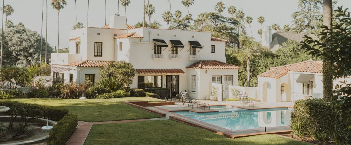 Vintage Spanish Estate w/ Pool on Acre Property in Altadena Hero Image in undefined, Altadena, CA