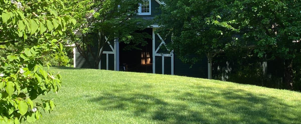 Wedding Reception Heaven: Minuteman Trail Rustic Barn & Yard in Concord Hero Image in undefined, Concord, MA