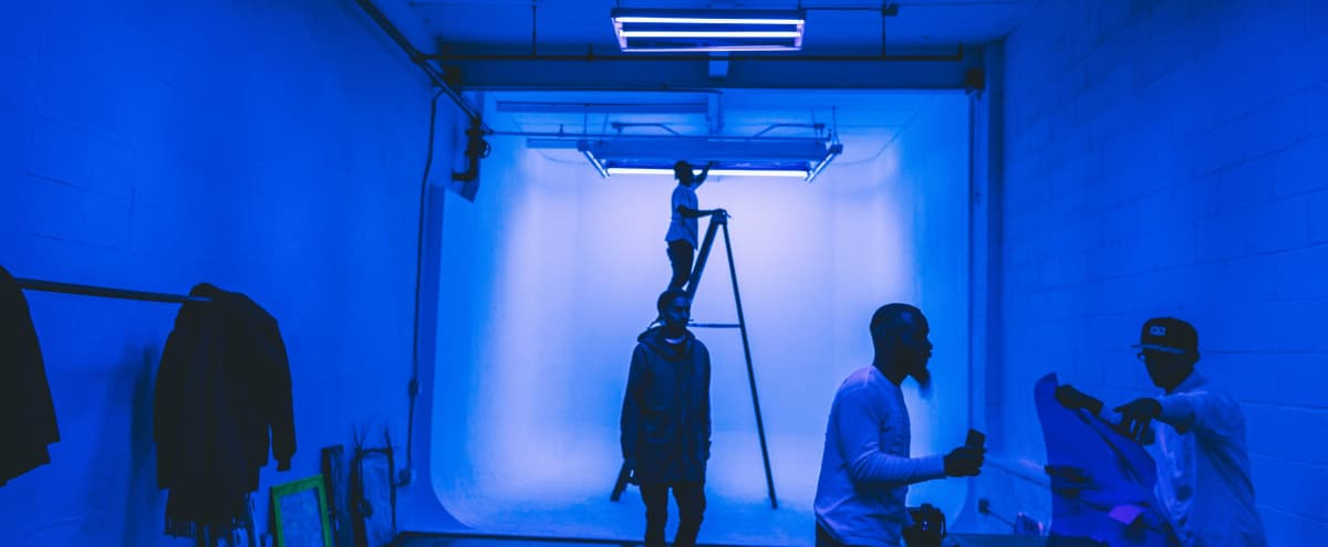 Spacious Photo/Video Studio in Bushwick/Ridgewood Area in Brooklyn Hero Image in Ridgewood, Brooklyn, NY