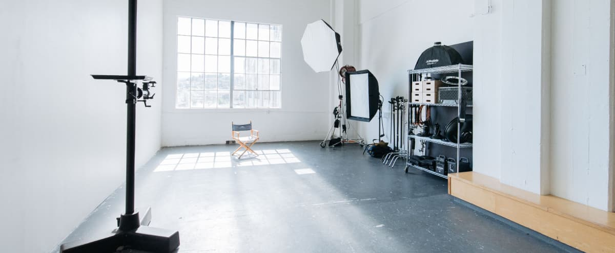 NEW LISTING SALE: Spacious Natural Light Industrial Photo Studio in San Francisco Hero Image in Silver Terrace, San Francisco, CA