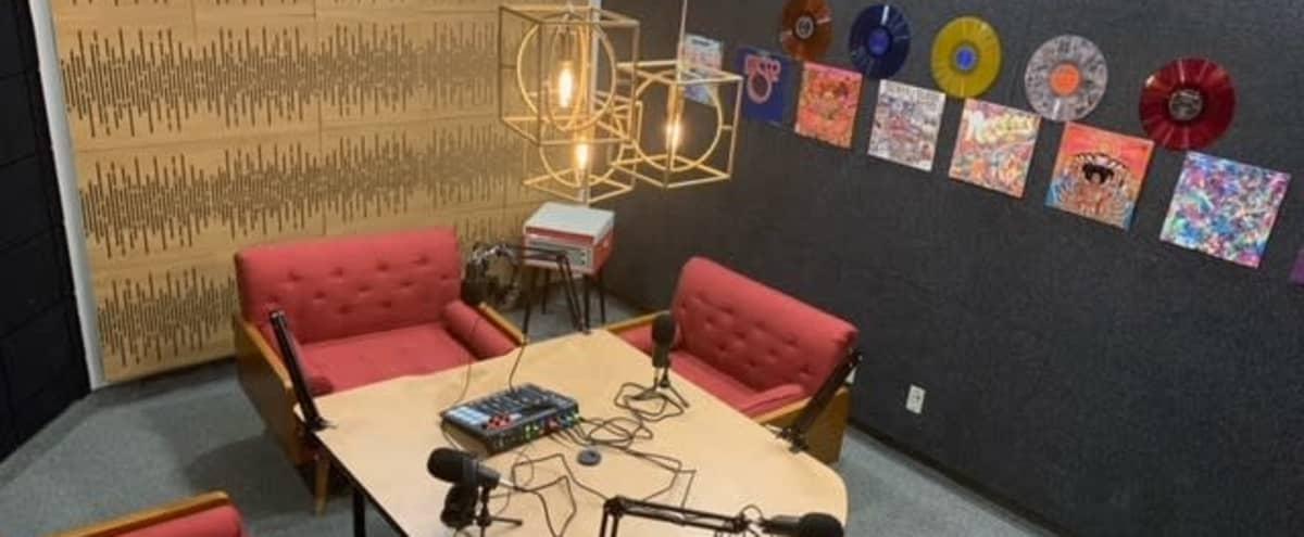 Uptown Podcast Room in Dallas Hero Image in Old East Dallas, Dallas, TX