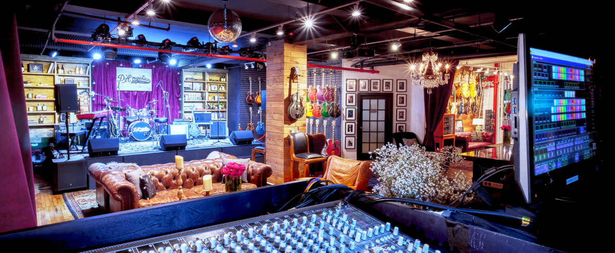 Beautiful NYC Private Event Space and Luxury Guitar Showroom in New York Hero Image in Midtown, New York, NY