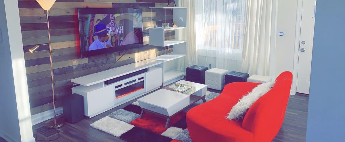 Modern Style House for Events in Atlanta Hero Image in Mozley Park, Atlanta, GA