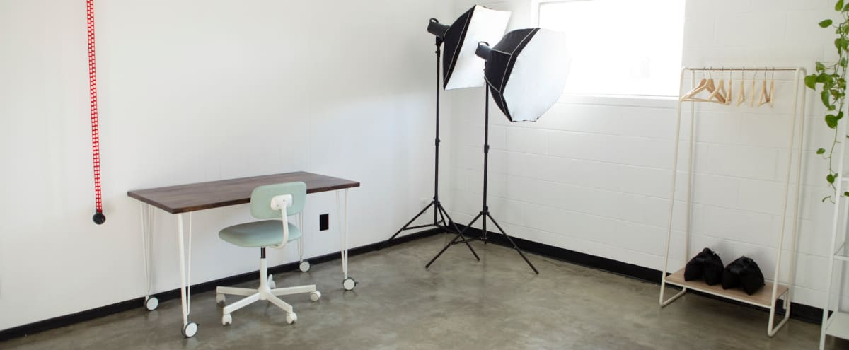 Air Conditioned, Intimate, Bright, & Airy 12'x14' Private Work Office and Meeting Space in Atwater Village in Los Angeles Hero Image in Atwater Village, Los Angeles, CA