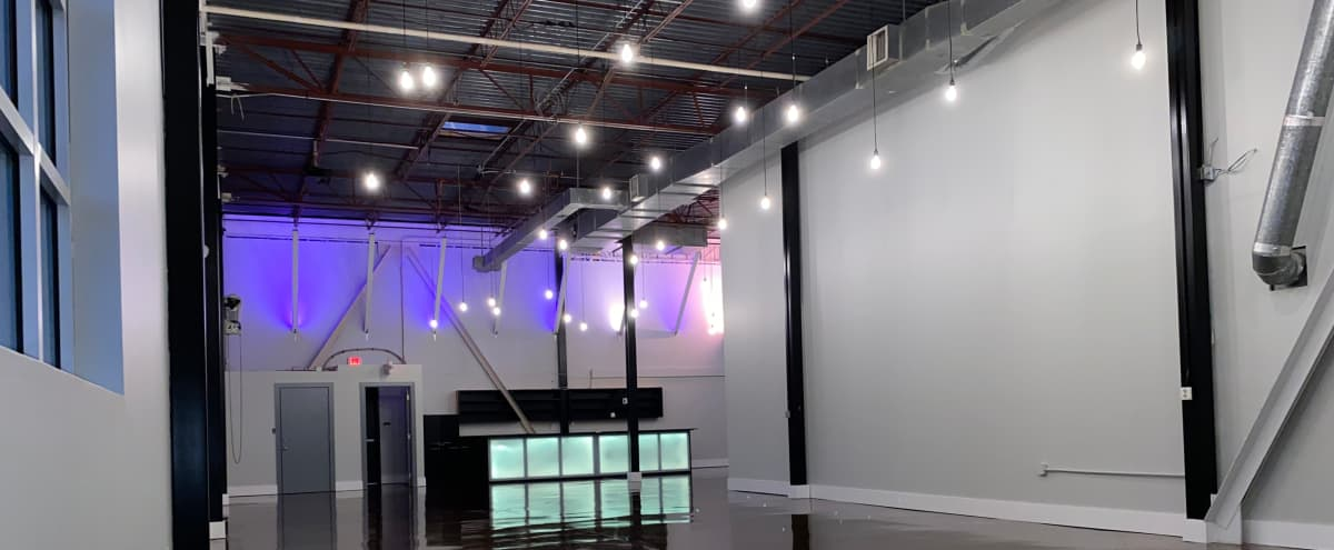 Industrial Style Event Hall in Midtown Atlanta in Atlanta Hero Image in Buckhead, Atlanta, GA