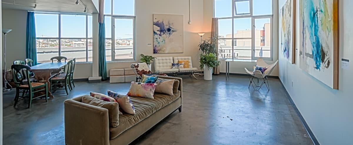 Artist's Sky Loft with Epic City Views in San Francisco Hero Image in Mission District, San Francisco, CA