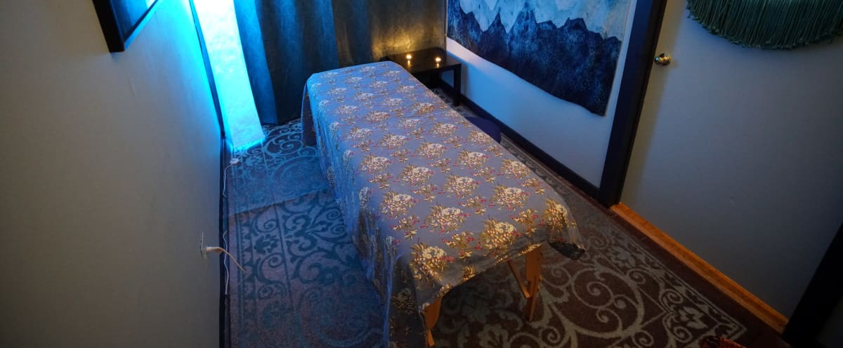 Relaxing, Private Room with Massage Table or Couch — Perfect for Healers, Therapists, or Coaches in New York Hero Image in Midtown Manhattan, New York, NY