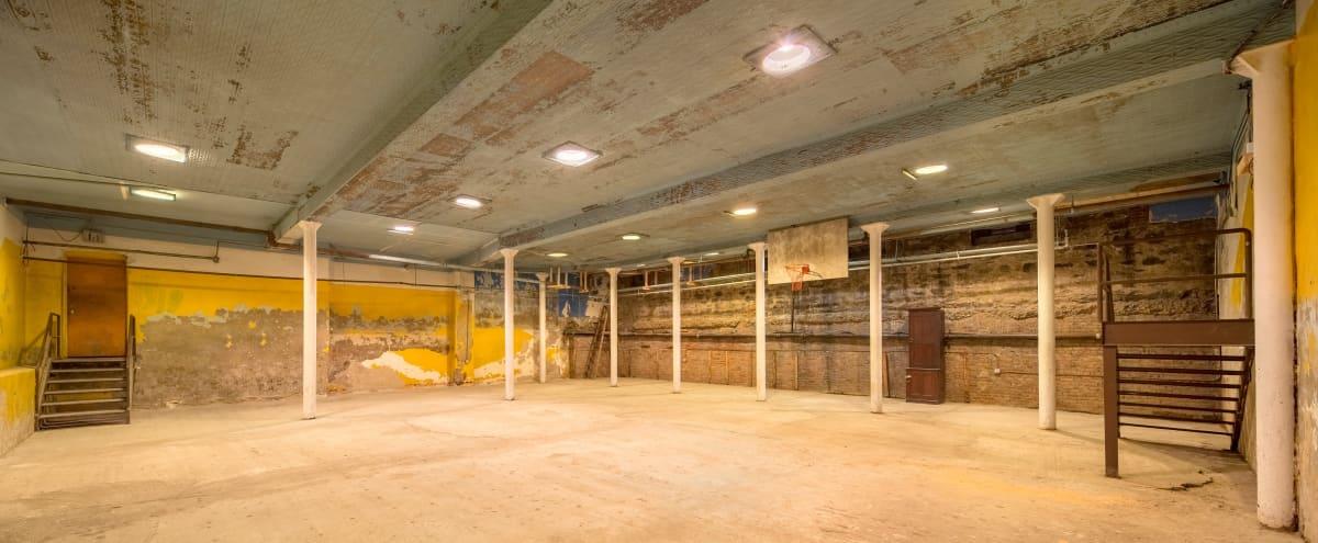 Raw Historic Underground Gymnasium in Brooklyn Hero Image in Bushwick, Brooklyn, NY