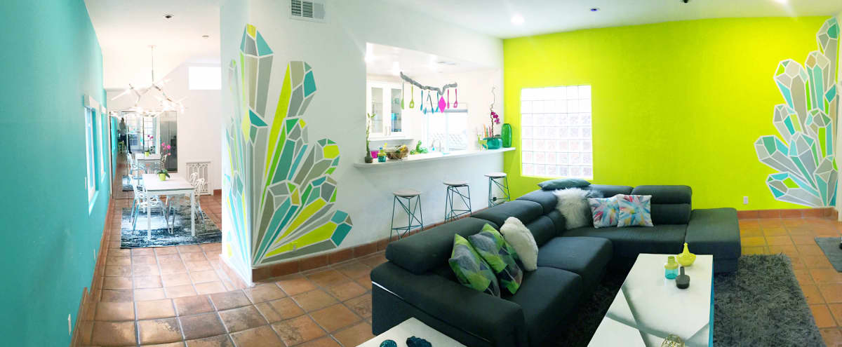 Colorful Modern Home in Silver Lake in Los Angeles Hero Image in Silver Lake, Los Angeles, CA
