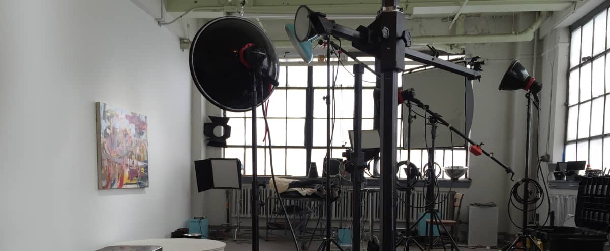 Equipped Photo Studio Space in Historic Hoboken Factory in Hoboken Hero Image in undefined, Hoboken, NJ