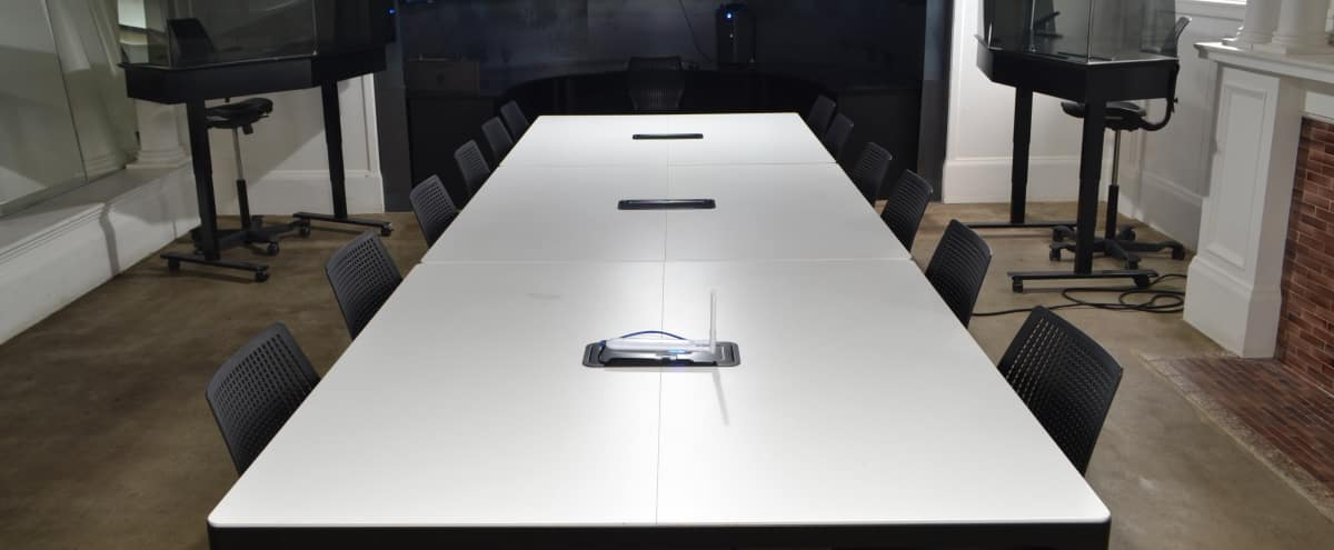 14 Person Modern Conference Room in Beautiful Mansion in San Francisco Hero Image in Alamo Square, San Francisco, CA