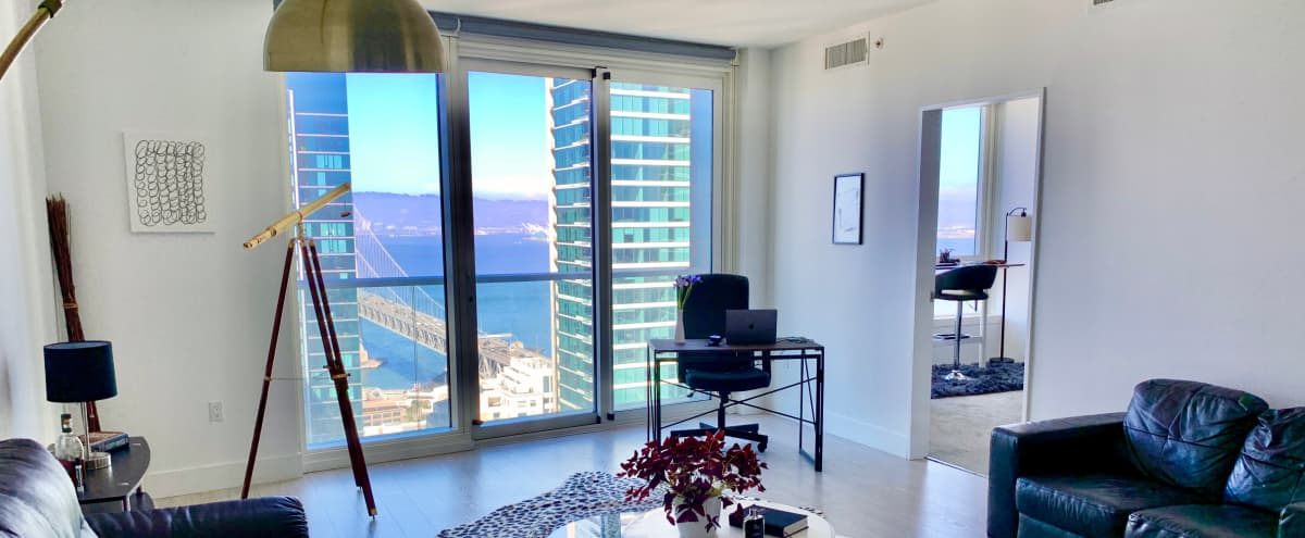 Luxury penthouse with Bay Bridge view (1HR Min) in SAN FRANCISCO Hero Image in South Beach, SAN FRANCISCO, CA