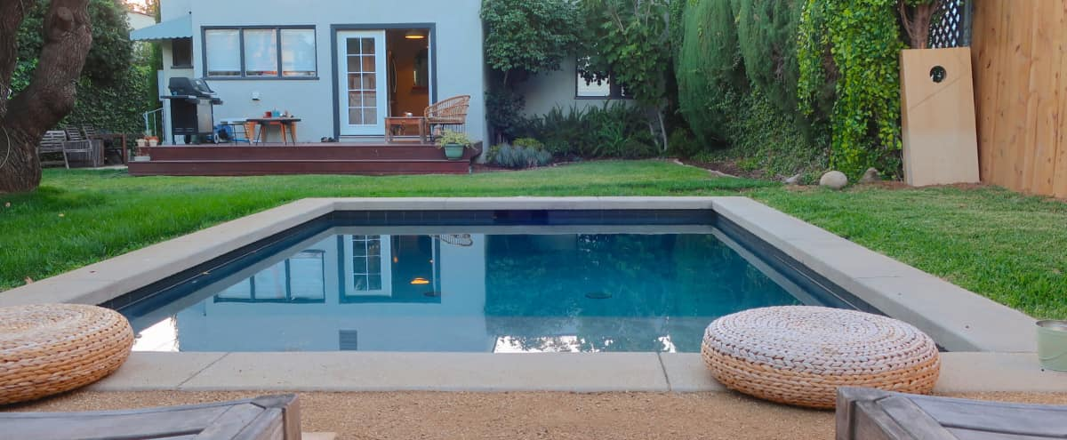 Los Feliz Charm with Rustic Backyard Pool in LOS ANGELES Hero Image in Los Feliz, LOS ANGELES, CA
