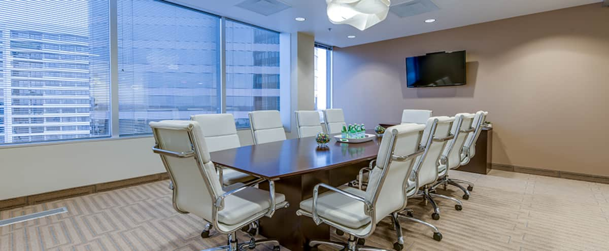 Uptown Conference Rooms with Downtown views perfect for a Kickstarter Video, Interviews, GoFundMe videos, or Office Setting Shoots in Dallas Hero Image in Turtle Creek, Dallas, TX