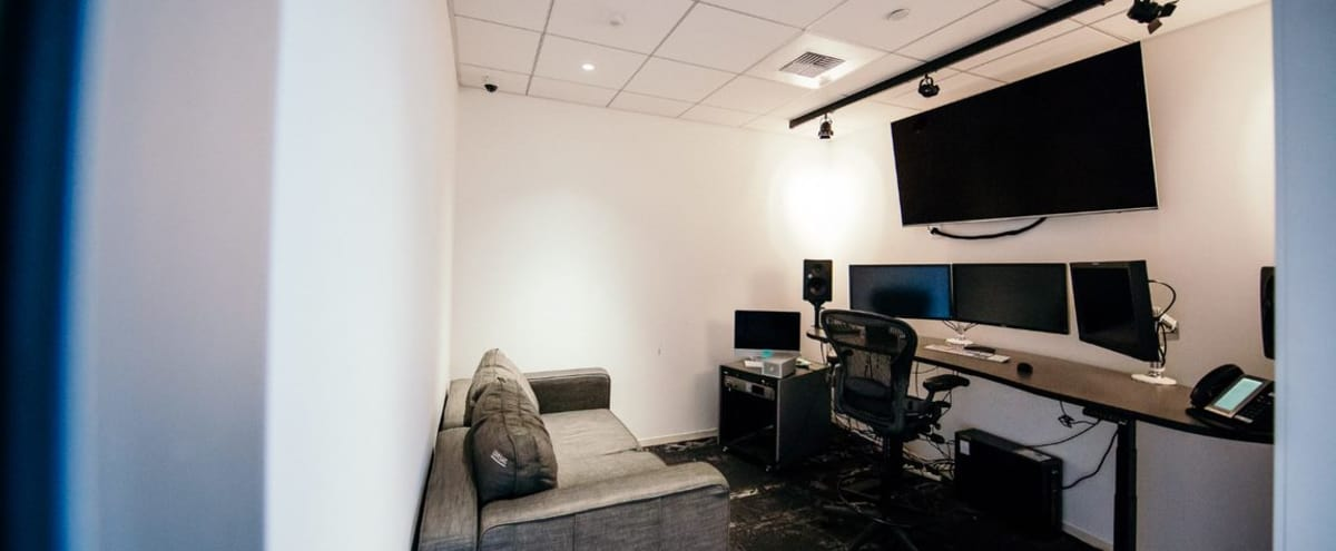 Editing Bay 3/Projecter Meeting Room in LA Hollywood - S in Los Angeles Hero Image in Hollywood, Los Angeles, CA