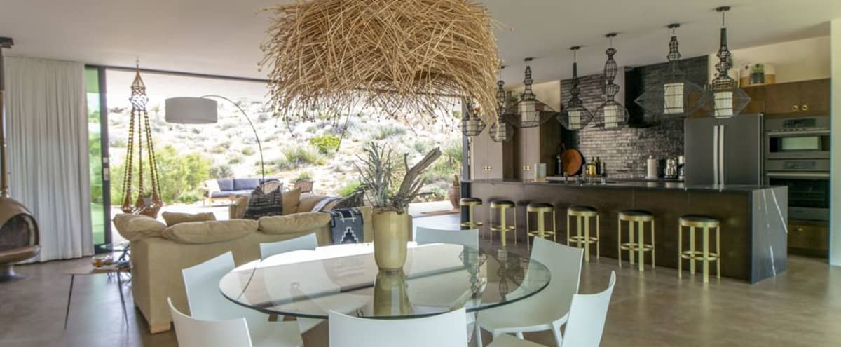 Meeting Retreat: All Glass Villa in Yucca Valley Hero Image in undefined, Yucca Valley, CA