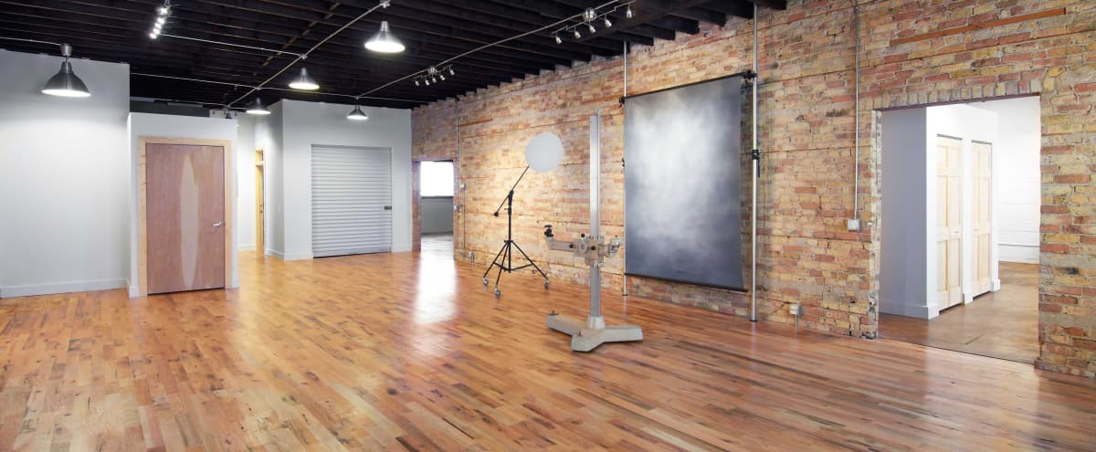 Modern Industrial Event Space in Chicago Hero Image in Pulaski Park, Chicago, IL