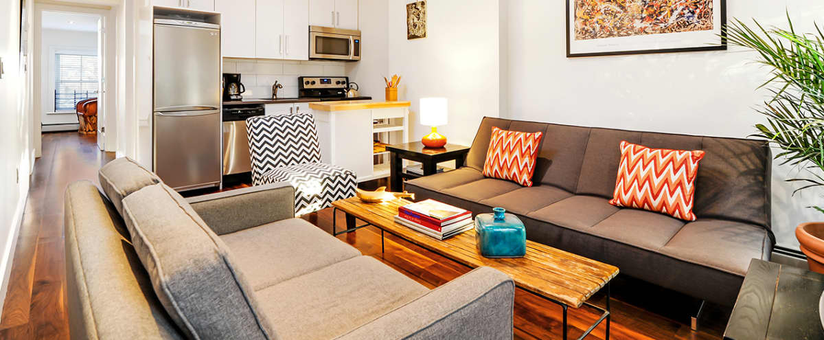Sunfilled Townhouse Floorthrough in Brooklyn Hero Image in Clinton Hill, Brooklyn, NY