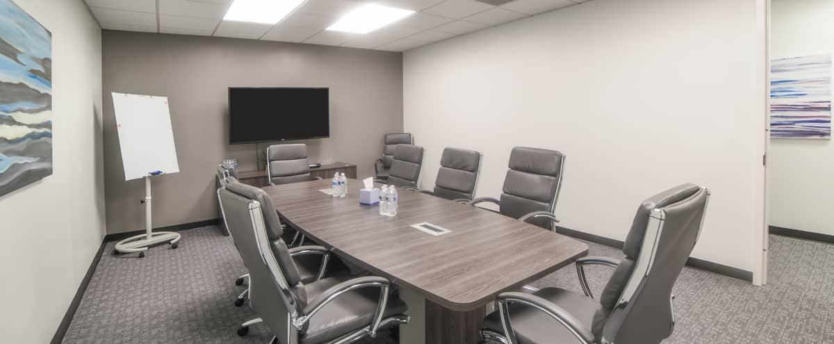 Roomy 8 Person Conference & Meeting Room Located in Midtown in Atlanta Hero Image in Buckhead, Atlanta, GA