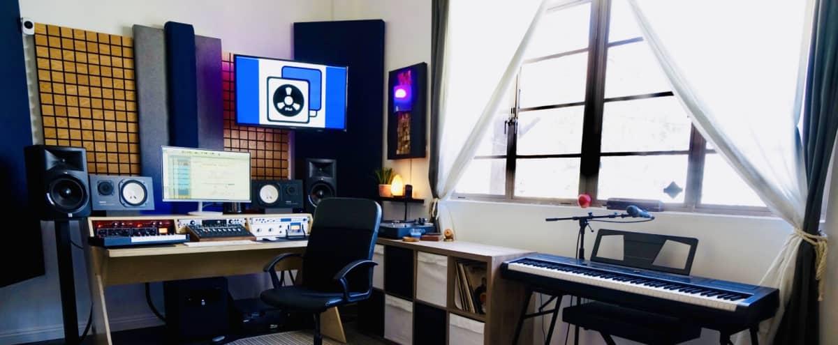 Beautiful Boutique Recording Studio in Los Angeles Hero Image in Hollywood, Los Angeles, CA