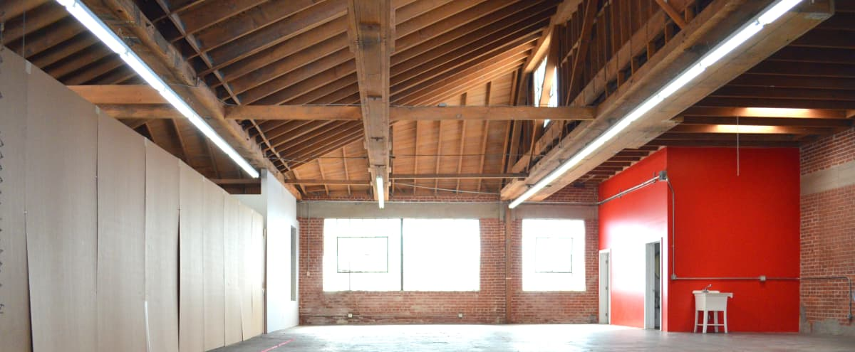 South L.A. Brick & Wood Warehouse Studio w Great Lighting and 35 Car Gated Parking in LOS ANGELES Hero Image in South Los Angeles, LOS ANGELES, CA