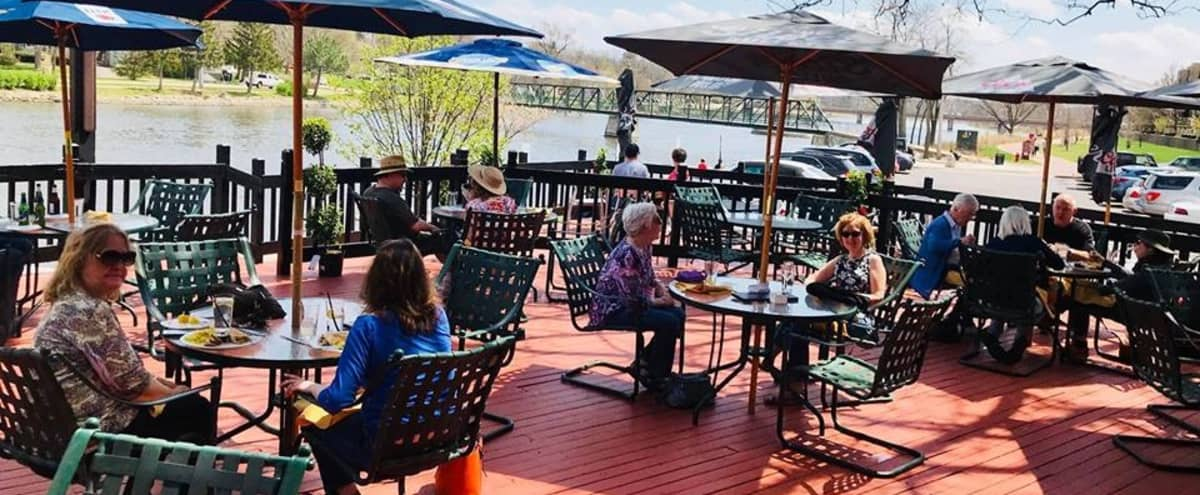 With an amazing view on the Fox River in St. Charles, our space is truly unique with a vintage vibe. in St Charles Hero Image in undefined, St Charles, IL