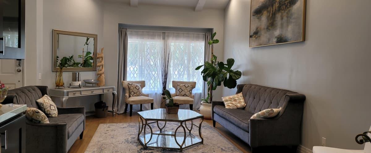Anywhere USA House w Designer Kitchen and Lush Green Backyard with Heated Pool in Tarzana Hero Image in Tarzana, Tarzana, CA