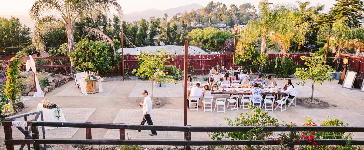 Beautiful, Rustic Outdoor Venue 10 Miles away from Downtown SD! in Spring Valley Hero Image in undefined, Spring Valley, CA