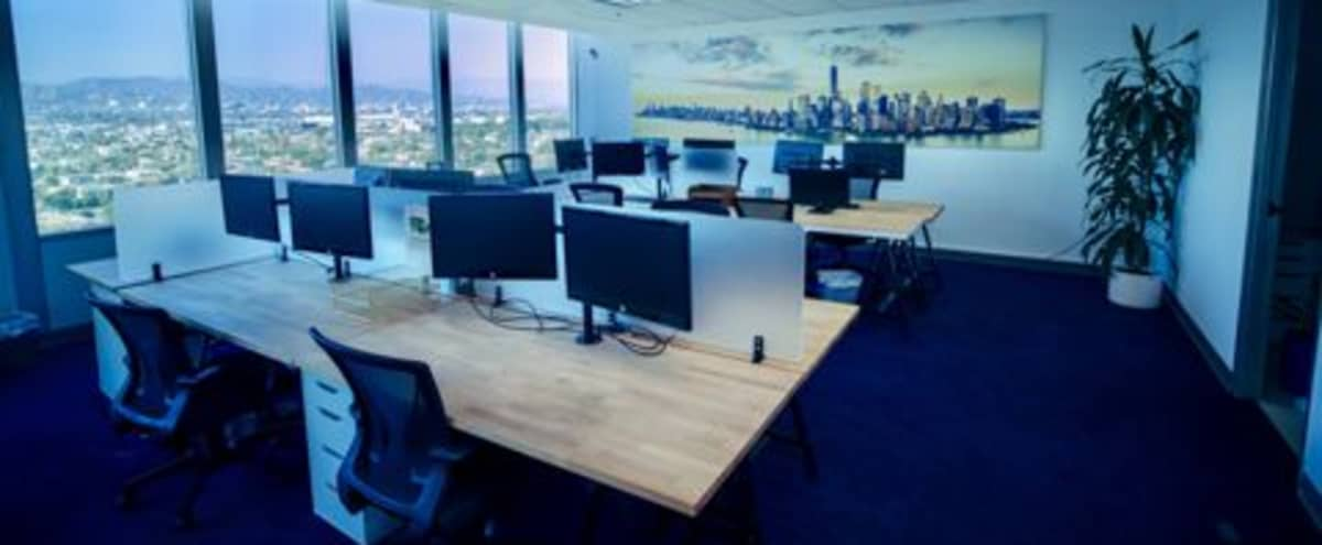 Fully equipped, modern office, work and or creative space with iconic LA Views in Mircale Mile in Los Angeles Hero Image in Central LA, Los Angeles, CA