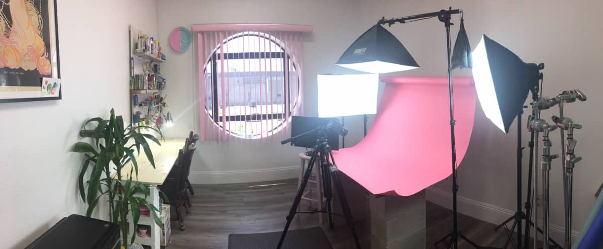 Stop Motion / Photography Studio Space with Animation Table and Lights in Los Angeles Hero Image in Central LA, Los Angeles, CA
